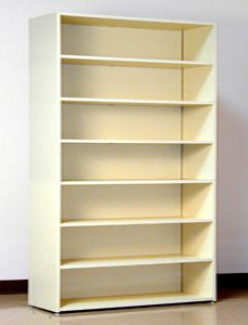 7 Tier 48 Quot Wide Legal Size Laminate Wood Open Shelf