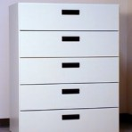 5 Drawer, 8000 Series Drawer Cabinet for 9&#8243; x 12&#8243; Non-Hanging Files &#8211; Folkstone Gray