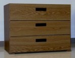 3 Drawer, 8000 Series Drawer Cabinet for 12″ x 9″ Hanging Files – English Oak Finish
