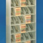 24″ wide 7 Tier Legal Size Datum Stackable Metal Shelving