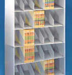 24&#8243; wide 5 Tier Datum Stackable Metal Shelving