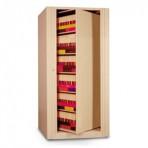6 Shelf Datum EZ2® Rotary Action File Cabinet – Starter Unit