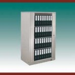 4 Shelf Aurora™ Times-2 Speed Files® from Richards-Wilcox – Starter Unit Rotary File Cabinet
