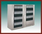 4 Shelf Aurora™ Times-2 Speed Files® from Richards-Wilcox – Rotary File Cabinet Add-On Unit