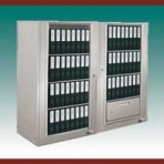 "4 Shelf Auroraâ""¢ Times-2 Speed Files® from Richards-Wilcox – Rotary File Cabinet Add-On Unit"