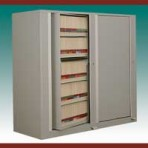 "5 Shelf Auroraâ""¢ Times-2 Speed Files® from Richards-Wilcox – Rotary File Cabinet Add-On Unit"