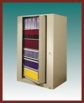 6 Shelf Aurora™ Times-2 Speed Files® from Richards-Wilcox – Starter Unit Rotary File Cabinet