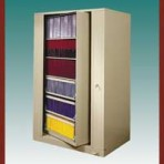 "6 Shelf Auroraâ""¢ Times-2 Speed Files® from Richards-Wilcox – Starter Unit Rotary File Cabinet"
