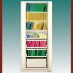 "7 Shelf Auroraâ""¢ Times-2 Speed Files® from Richards-Wilcox – Starter Unit Rotary File Cabinet"