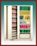 """7 Shelf Auroraâ""""¢ Times-2 Speed Files® from Richards-Wilcox – Rotary File Cabinet Add-On Unit"""