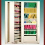 "7 Shelf Auroraâ""¢ Times-2 Speed Files® from Richards-Wilcox – Rotary File Cabinet Add-On Unit"