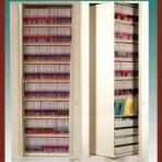 "8 Shelf Auroraâ""¢ Times-2 Speed Files® from Richards-Wilcox – Rotary File Cabinet Add-On Unit"