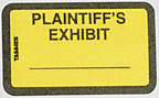 Item# 58094  Plaintiff&#8217;s Exhibit Label