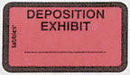 Item# 58095  Deposition Exhibit Label