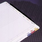 Item# 63-0495  Chart Divider Sheets