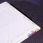 Item# 63-0495  Chart Divider Sheets
