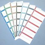 Item# 63-7129  Wrap-around Name Labels