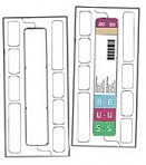 Item# 63-8383  ClickStrip™ Blank Labels