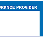 Item# 63-8415  INSURANCE PROVIDER Label