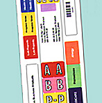 Item# 63-8662  SmartStrip® Labels – 250 pack