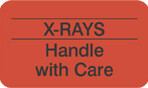 Item# MAP2410  'X-Rays Handle with Care' Label