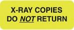 Item# UL807  'X-Ray Copies' Label
