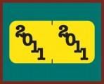 Item# 0411YBK  Jeter Match 2011 Year Labels, ringbook pkg.