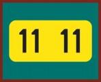 Item# 0711SMY  Smead/Jeter 2011 Year Labels, rolls