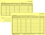 Item# 50-0272  Inventory Cards-Crown & Bridge