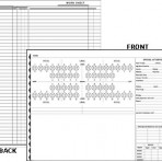 Item# 50-0340  Examination Chart/Worksheet (Reduced Financial)