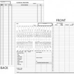 Item# 50-0360  Examination Chart/Case Presentation/Worksheet for Adults
