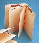 Item# 63-0005  Top Tab Manila Classification Folder