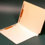Item# 63-0020-2  End Tab Manila Folder with Two Fasteners