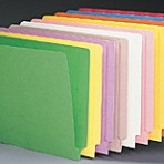 Item# 63-0073  Barkley Colored File Folders, 11 pt.