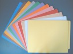 Item# 63-0077  Colored File Folders, 11 pt.