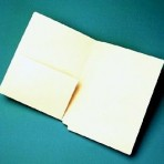 Item# 63-0520  Manila Pocket Folder with Half Pocket