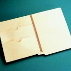 Item# 63-0553  Heavy Weight Double Pocket Folder with U-File-M Strips