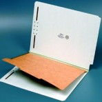 Item# 63-1050  25 pt Gray Pressboard Folder