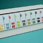 Item# 63-7147  Col'R'Tab Numeric Starter Set-rolls