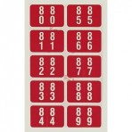 Item# 63-8219  Smead DDCC Double Digit Label Set