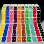 Item# 63-8226  Smead LCC Numeric Starter Set-Rolls