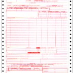 Item# N-CCF-UB92-4  Continuous Claim Form