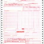 Item# N-CCF-UB92-4  Continuous Claim Form