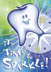 "Item# RC102  ""Sparkle"" Dental Reminder"