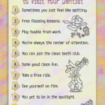 Item# RC104  Top Ten Reasons To Visit Your Dentist