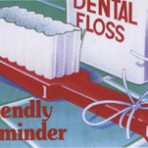Item# RC111  Dental Floss Reminder Card