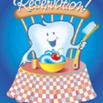 "Item# RC122  ""Reservation"" Dental Reminder Postcard"