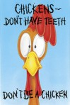Item# RC124  Chicken Dental Card