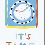 "Item# RC135  ""It's Time"" Reminder Card"