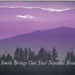 Item# RC139  Purple Sunset Dental Postcard